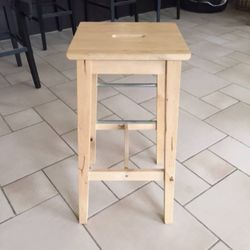 Two Stools from Ikea