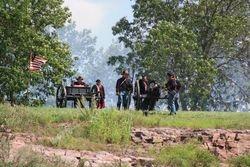 2nd Minnesota LIght Artillery in support