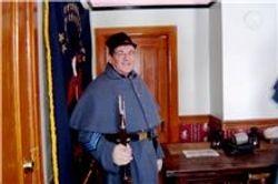 Color Sergeant Daniel Dills
