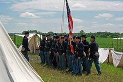 Minn. Co. Wasioja 2011 5th MN Battle Flag