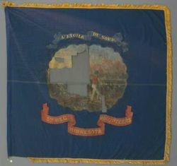 5th Minnesota Orginal Regimental Colors
