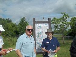 David Culham on the Culham Trail