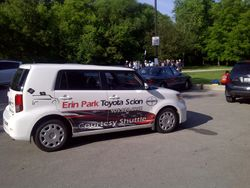 Erin Park Scion support vehicle