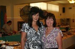 member Kellie with her mom