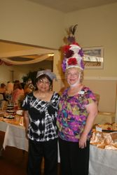 member Maryann with guest
