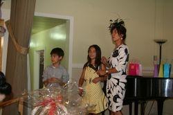 member Amira & her kids