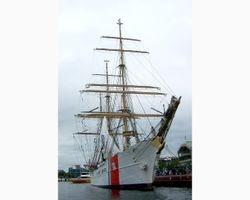 The Barque Eagle sailing ship