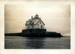 Rockland Breakwater Light 1950