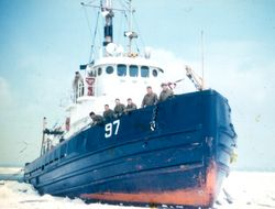 USCG 110' foot tug Ojibwa
