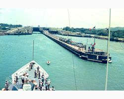 Entrance Gulf side of Panama Canal