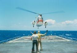 Helo Ops leaving Hawaii