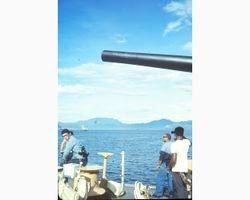 Entering Da Nang Harbor