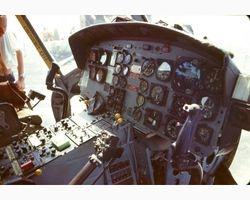 Many helos set down on Shermans Flight Deck