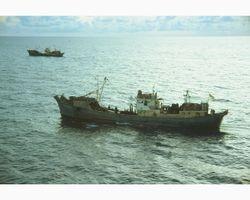 Trawler boarding on Market time patrol