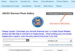 How to upload photos page 1
