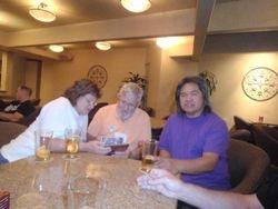 Fran and Ronnie Combs, Roger Lumibao