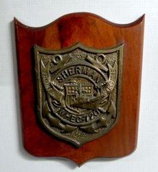 The Original Sherman Plaque