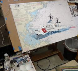 Painting the Chart Art