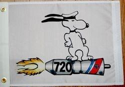 Snoopy Unrep Break away flag