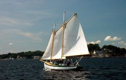 Morton Caplan's lovely boat