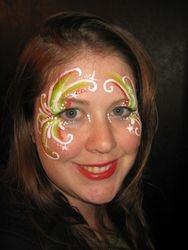Festive eye design
