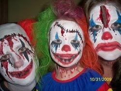 Halloween costume make up