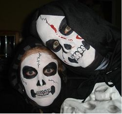 Halloween Make up for costumes