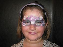 garden fairy mask