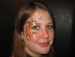 Fancy eye design