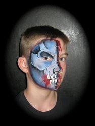 monster  half mask