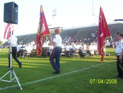 4th of July Color Guard 2008