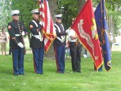 Marine Corps League Color Guard