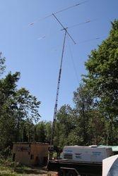 70 ft crank up / Tri-Bander