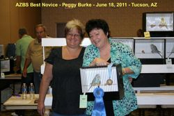 Peggy Burke - Best Novice - 6-18-2011