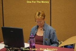 Linda Fowler - Show Secretary 6-18-2011