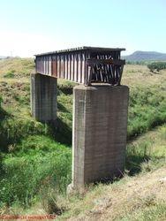 old bridge at sandy hollow 13.1.09