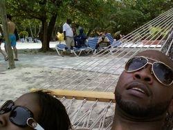 Chilling in Haiti