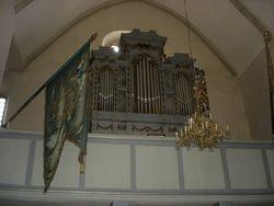 Orga mare a bisericii