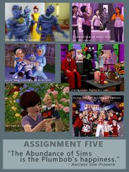 Assignment Five Poster
