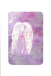 encaustic wax greeting card