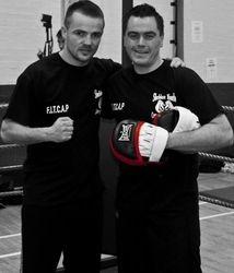 Frankie Gavin and Steve McGrath