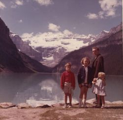 Canada with my Father & Sisters