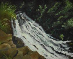Hoopii Falls Upstream, Kauai