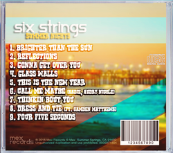 Summer Nights CD Cover Back 2
