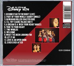 Disney Hits CD Cover Back 1