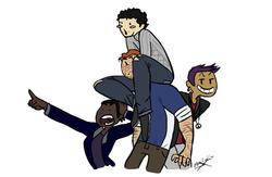 Gladiators staff r cuties pass it on (Draw ur ocs like)