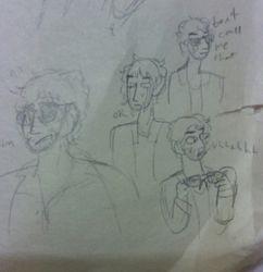 Declan doodles (traditional)