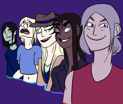 attractive villains are among them (draw the squad)