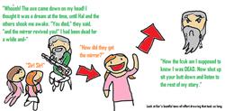 Kor made a beautiful comic of Old Fallow