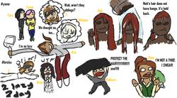 Kor did lazy bad doodles